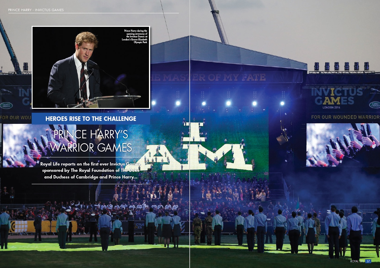 Heroes Rise to the Challenge: Prince Harry's Invictus Games London 2014