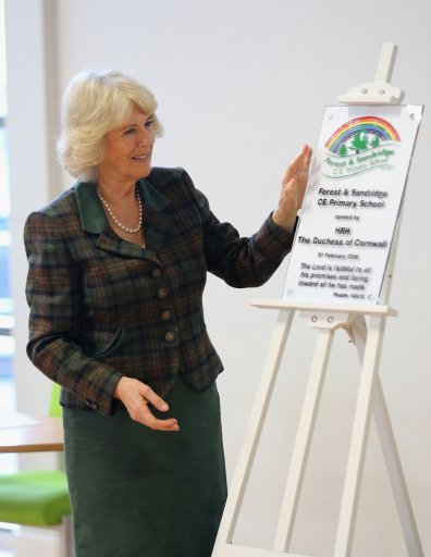Duchess Of Cornwall visits Wiltshire