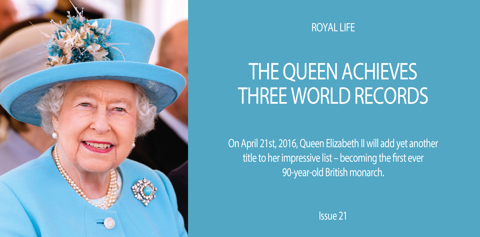 The Queen Achieves World Record