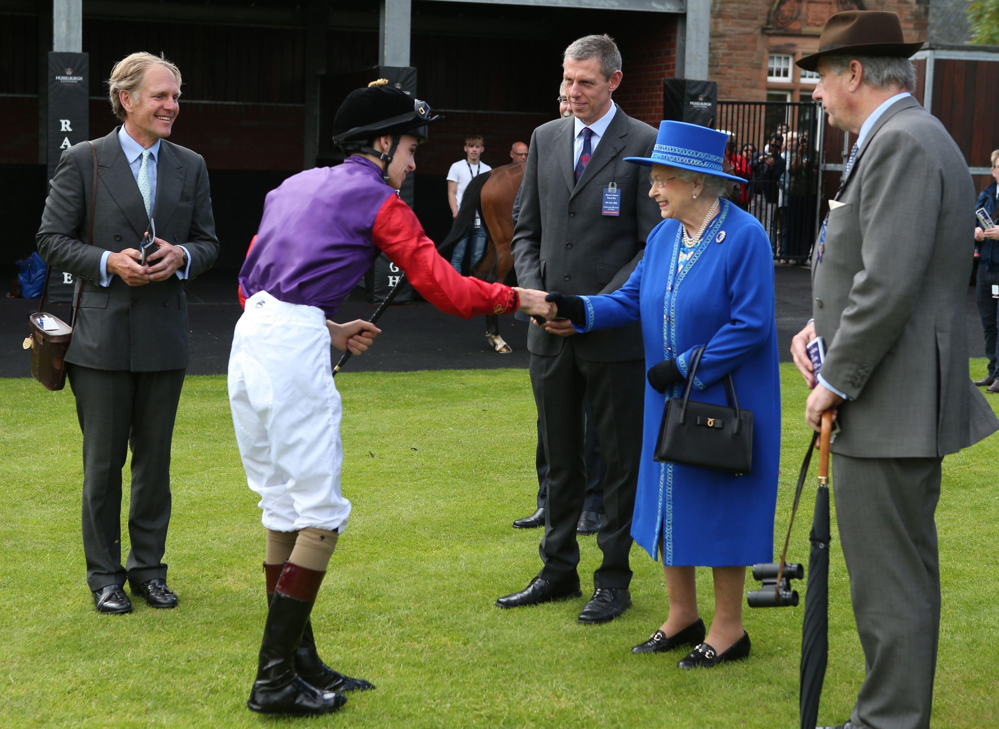 Royal visit to Scotland - Day 8