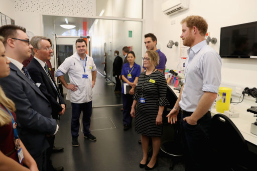Prince Harry promotes HIV testing