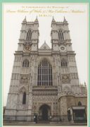 Postcard - Westminster Abbey
