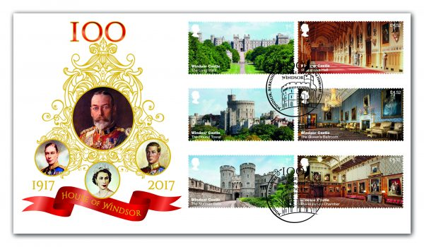 Windsor Castle First Day Cover