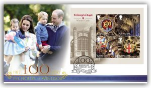 St George's Chapel First Day Cover