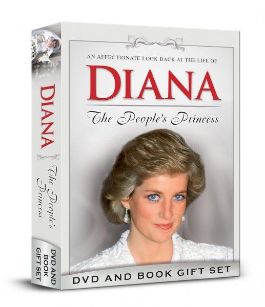 Diana - The People's Princess [DVD & Book Set]