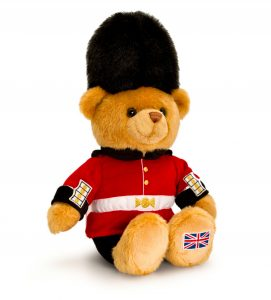 London Guardsman Teddy Bear - Keel Toys 25cm
