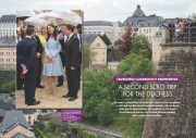 Celebrating Luxembourg's Independence: A Second Solo Trip For The Duchess of Cambridge