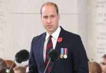 Reading by The Duke of Cambridge at the Last Post ceremony in Belgium