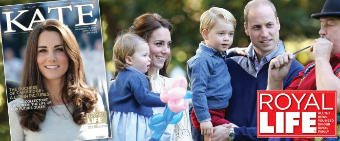 Their Royal Highnesses The Duke and Duchess of Cambridge are delighted to confirm they are expecting a baby in April 2018.