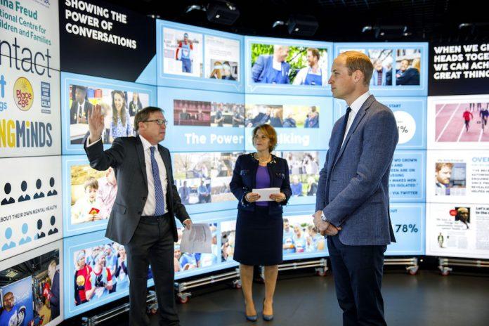 Duke of Cambridge Visits Data Observatory