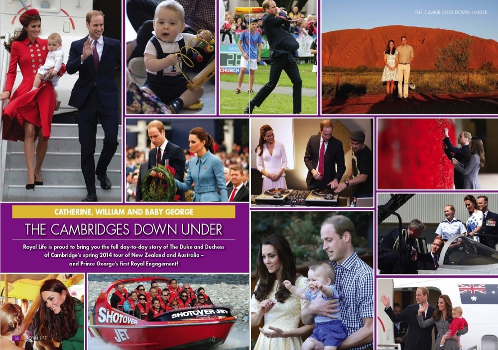 1 Catherine, William and Baby George - The Cambridges Down Under