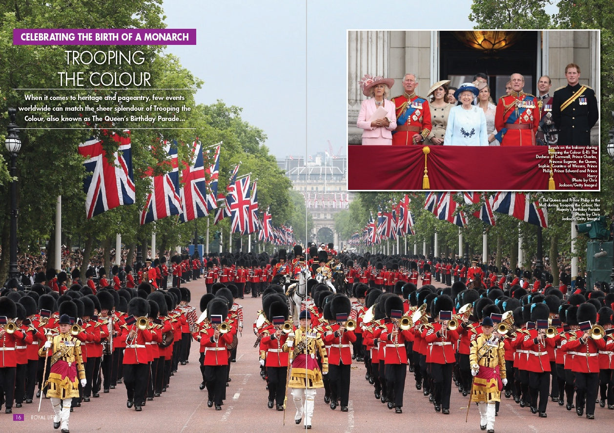 Celebrating The Birth Of A Monarch- Trooping The Colour
