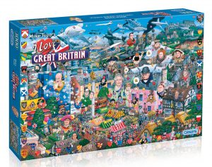 G469 I Love Great Britain box