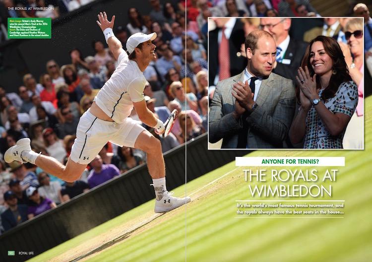 Anyone For Tennis? The Royals At Wimbledon