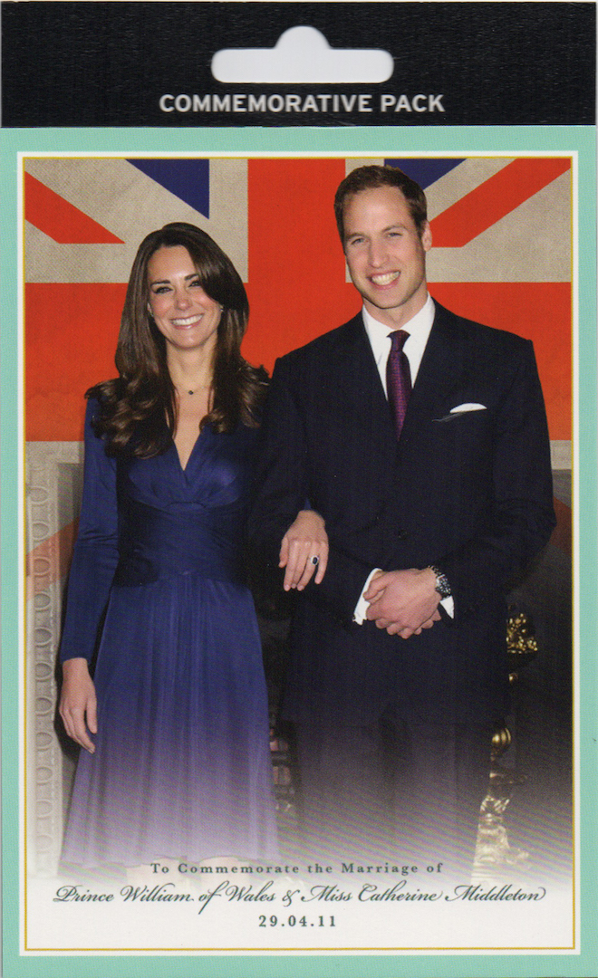 Royal Wedding Postcard Pack