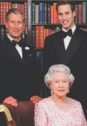 Postcard - Royal Family