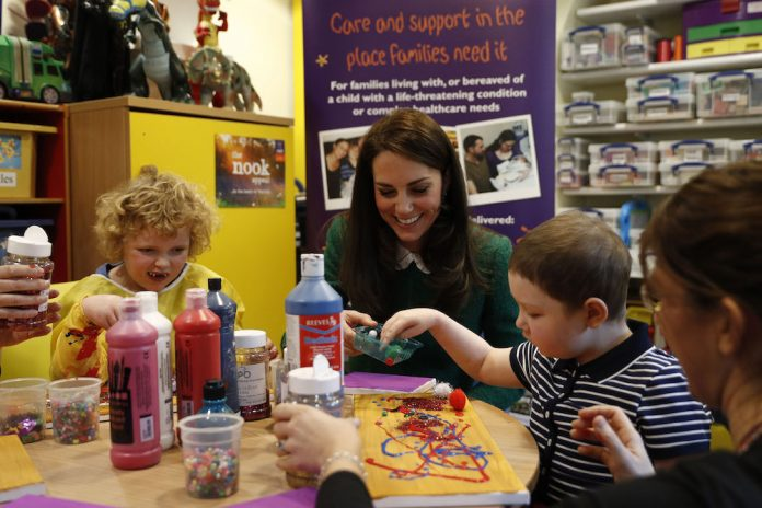 Duchess of Cambridge Visits Norfolk Hospice
