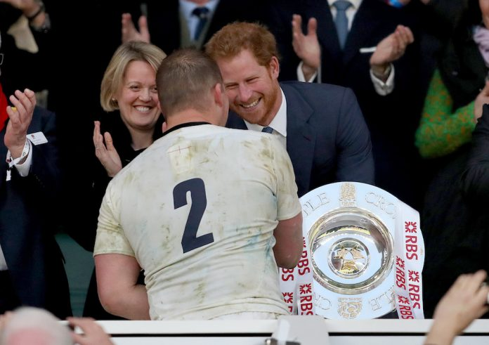 Prince Harry to attend England Rugby Team Open Training Session