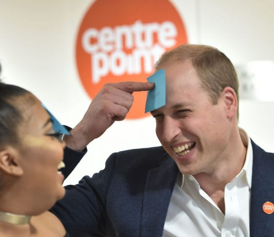Duke of Cambridge to Launch Centrepoint Helpline