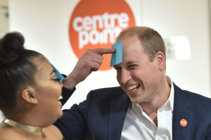 Duke of Cambridge to Launch Centrepoint Helpline