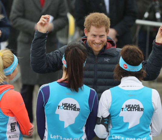 His Royal Highness Prince Harry gives a speech at the Heads Together Training Day, Newcastle, Tuesday 21st February, 2017