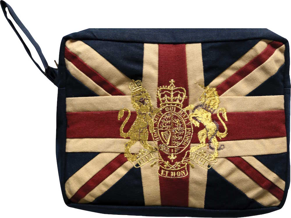 Royal Crest-Vintage Wash Bag