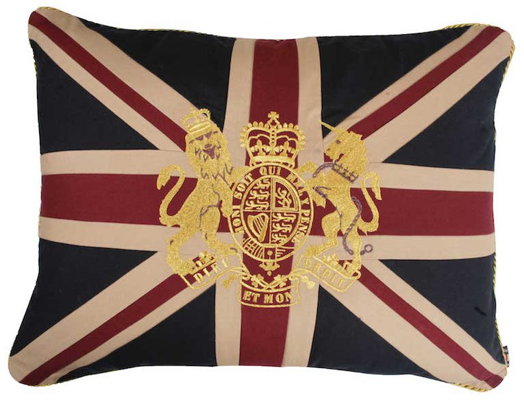 Royal Crest-Vintage Sham Cushion