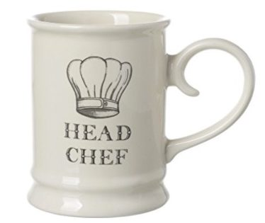 David Mason Majestic Cream Head Chef Tankard Mug