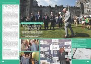 Securing A Prosperous Future: Prince Charles and Camilla Visit The Emerald Isle