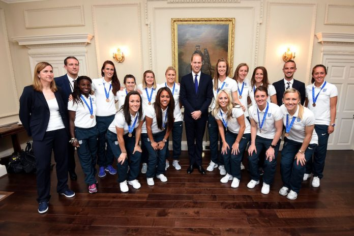 The Duke of Cambridge to Host a Good Luck Send Off Reception for the England Women Football Team