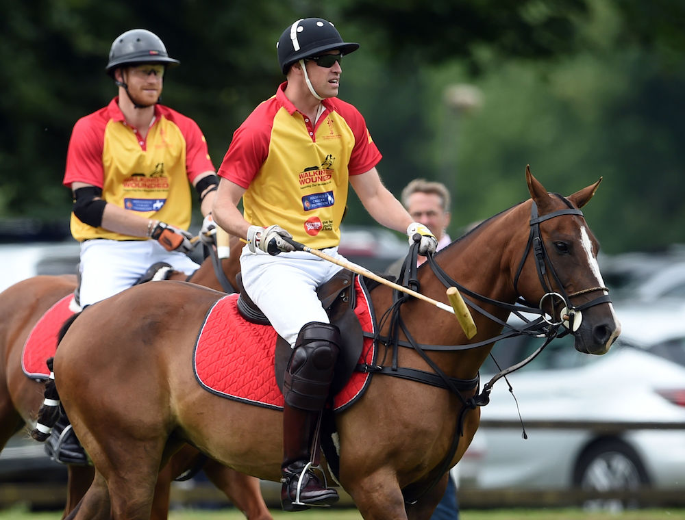 Princes William and Harry to Take Part in King Power Royal