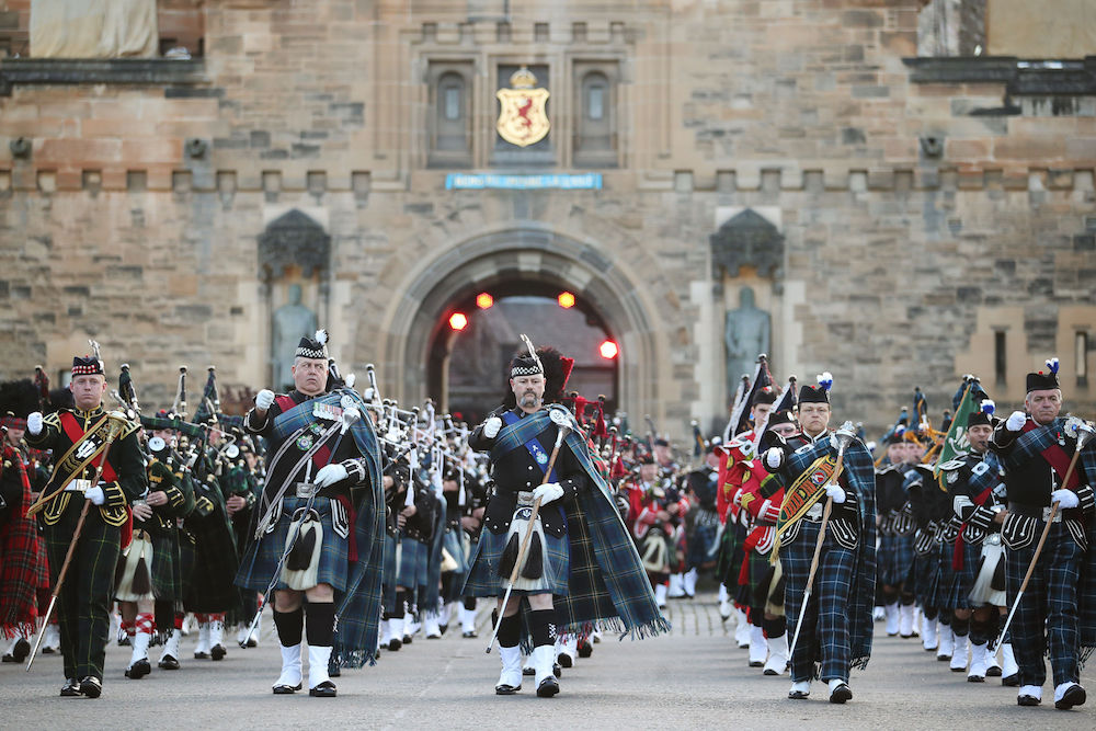 Royal edinburgh military tattoo royal life magazine for Royal military tattoo