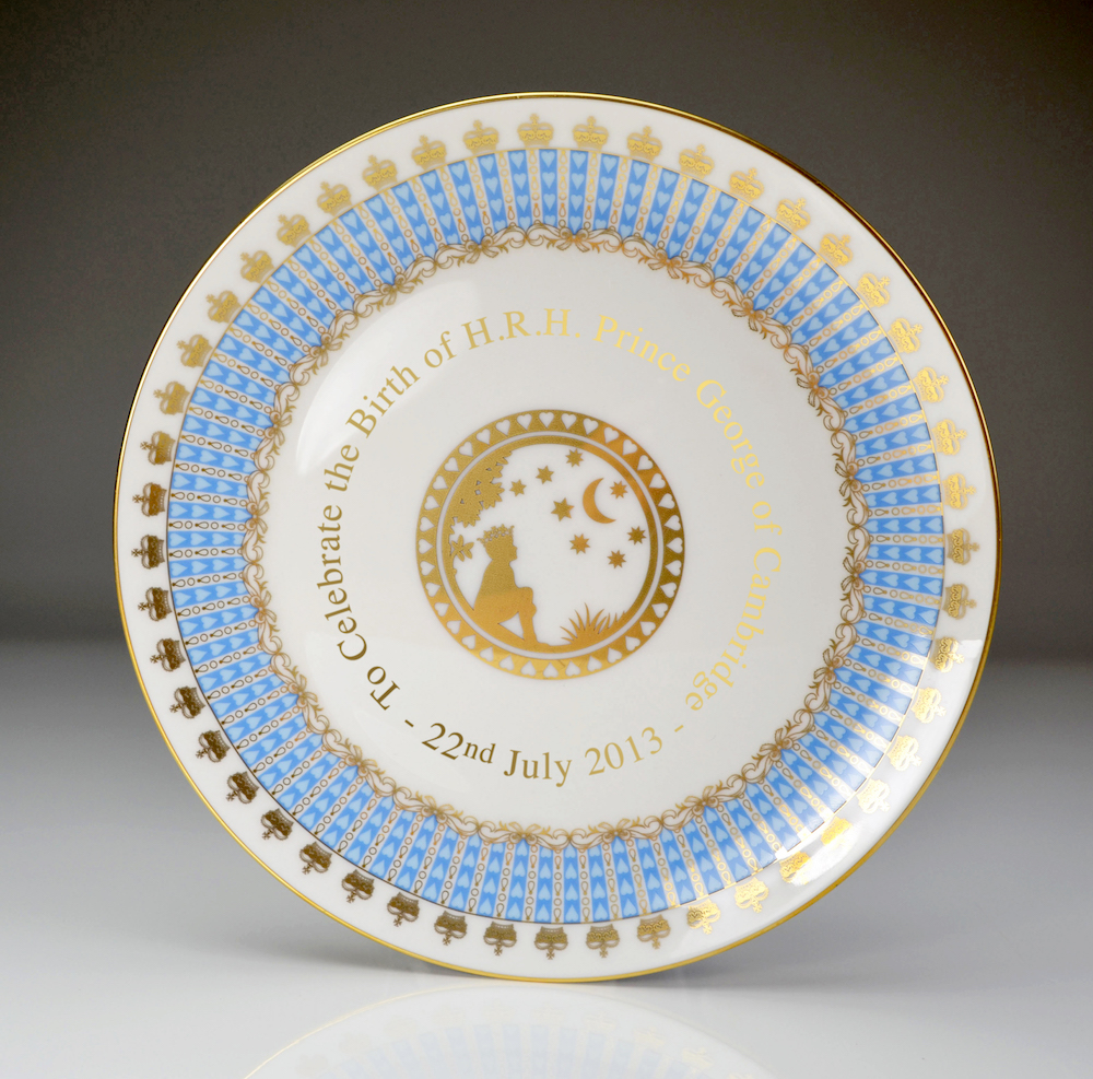 William Edwards HRH Prince George of Cambridge Plate (21cm)