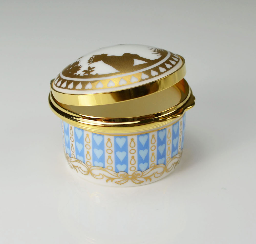 William Edwards HRH Prince George of Cambridge Trinket Box
