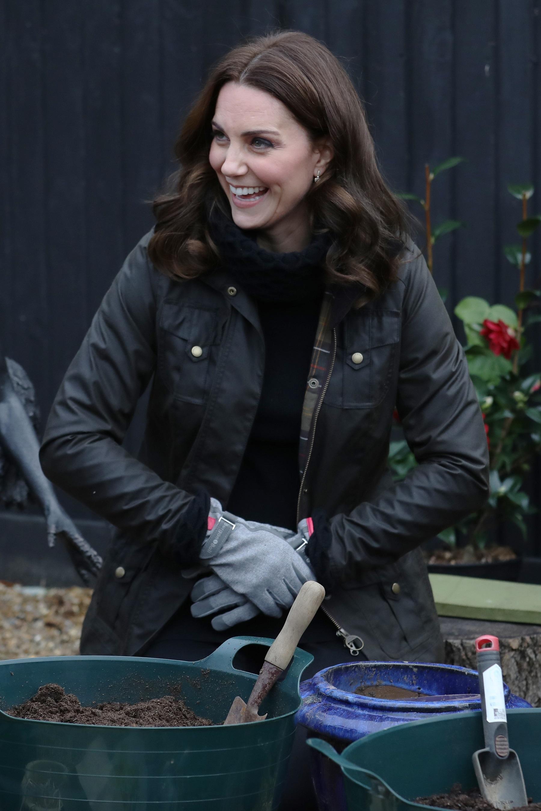 Duchess of Cambridge Celebrates Ten Years of School Gardening