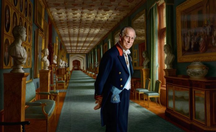 New portrait of HRH The Duke of Edinburgh