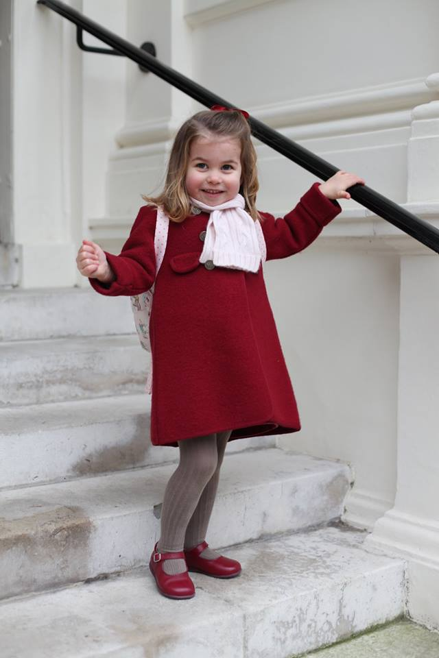 Princess Charlotte's First Day of Nursery