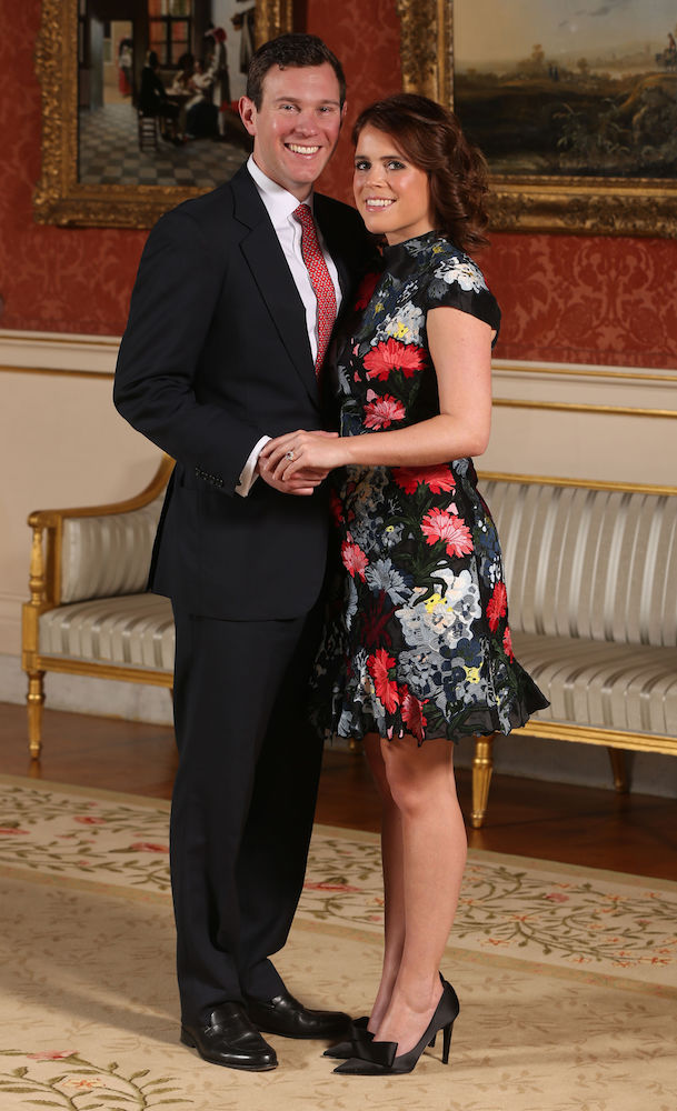 HRH Princess Eugenie of York and Mr Jack Brooksbank Engaged