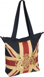 Royal Crest-Vintage Tote Bag