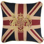 Royal Crest-Vintage Medium Square Cushion