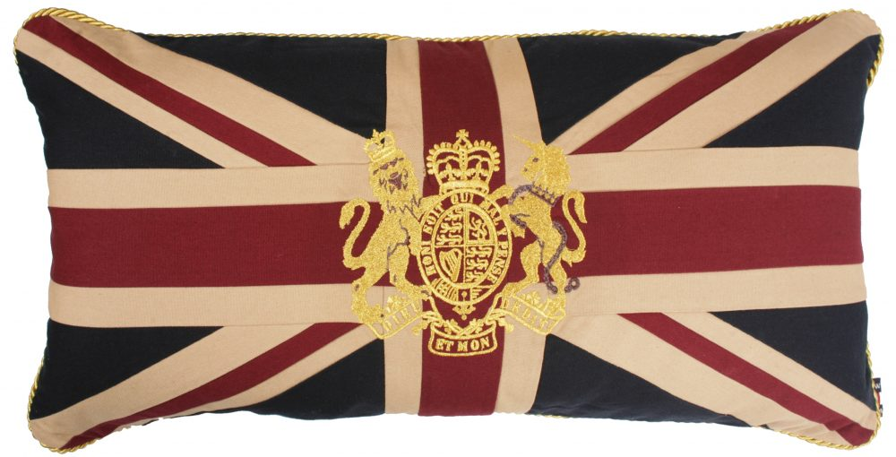 Royal Crest-Vintage Large Cushion