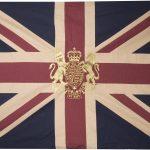 Royal Crest-Vintage Large Flag