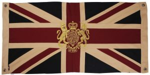 Royal Crest-Vintage Small Flag