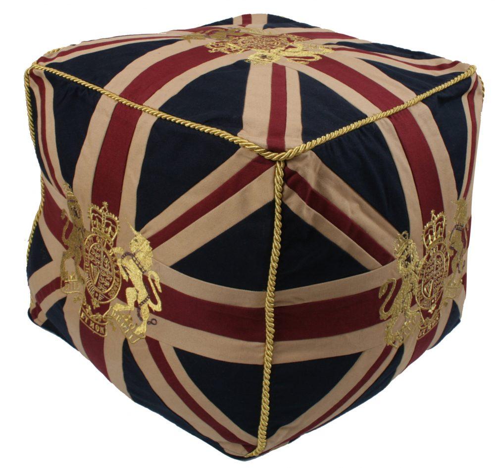 Royal Crest-Vintage Pouffe
