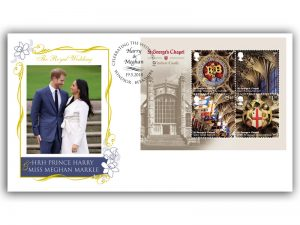 Prince Harry and Meghan Markle Royal Wedding First Day Cover