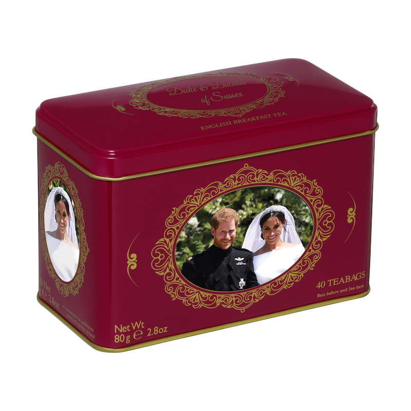 Duke and Duchess of Sussex Royal Wedding Tea Tin