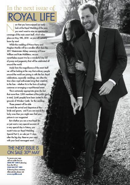 Royal Wedding Special – Part 2