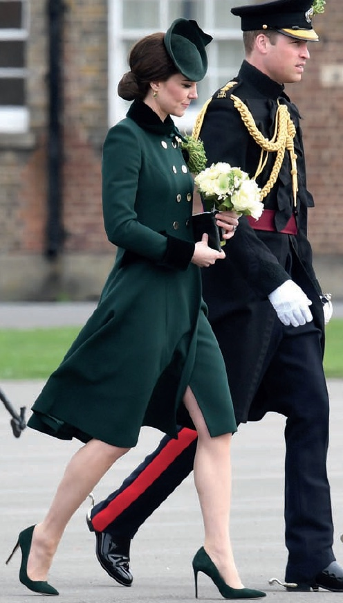 Duke and Duchess of Cambridge to Attend St. Patrick's Day Parade