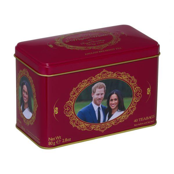 Prince Harry and Meghan Markle Royal Wedding Commemorative Tea Tin