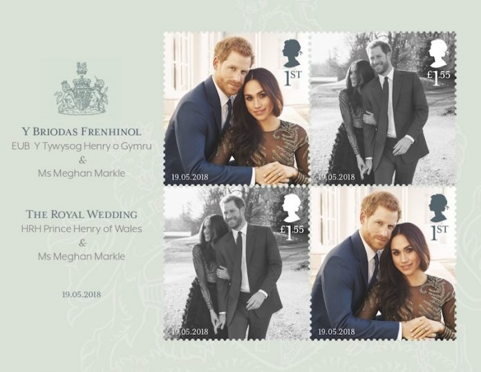 Royal Mail Release Special Royal Wedding Stamps